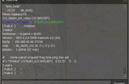 Запускаем антибан с командой ct_steam_set_value STEAM_0:0:36913871 STEAM_ID (Рис. 3)