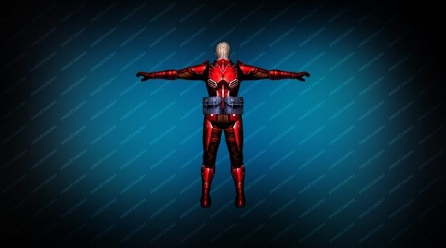 Модель игрока «Rifleman Red» для CS 1.6