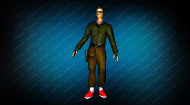 Модель игрока «Админ террорист» для CS 1.6