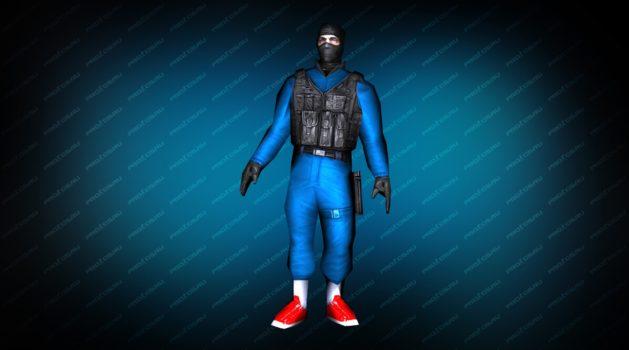 Модель игрока «Админ контр-террорист» для CS 1.6