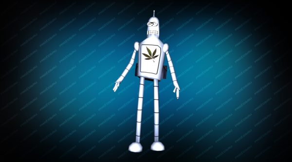 Модель «Bender Remake» вид спереди