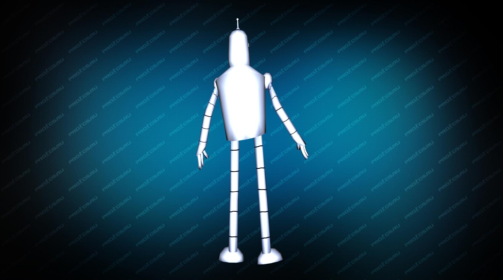 Модель «Bender Remake» вид сзади