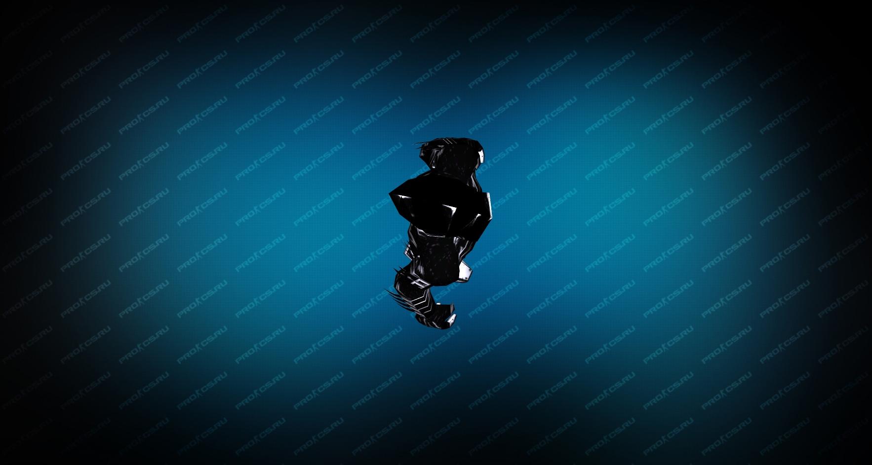 Модель «Черная смерть» Вид сверху