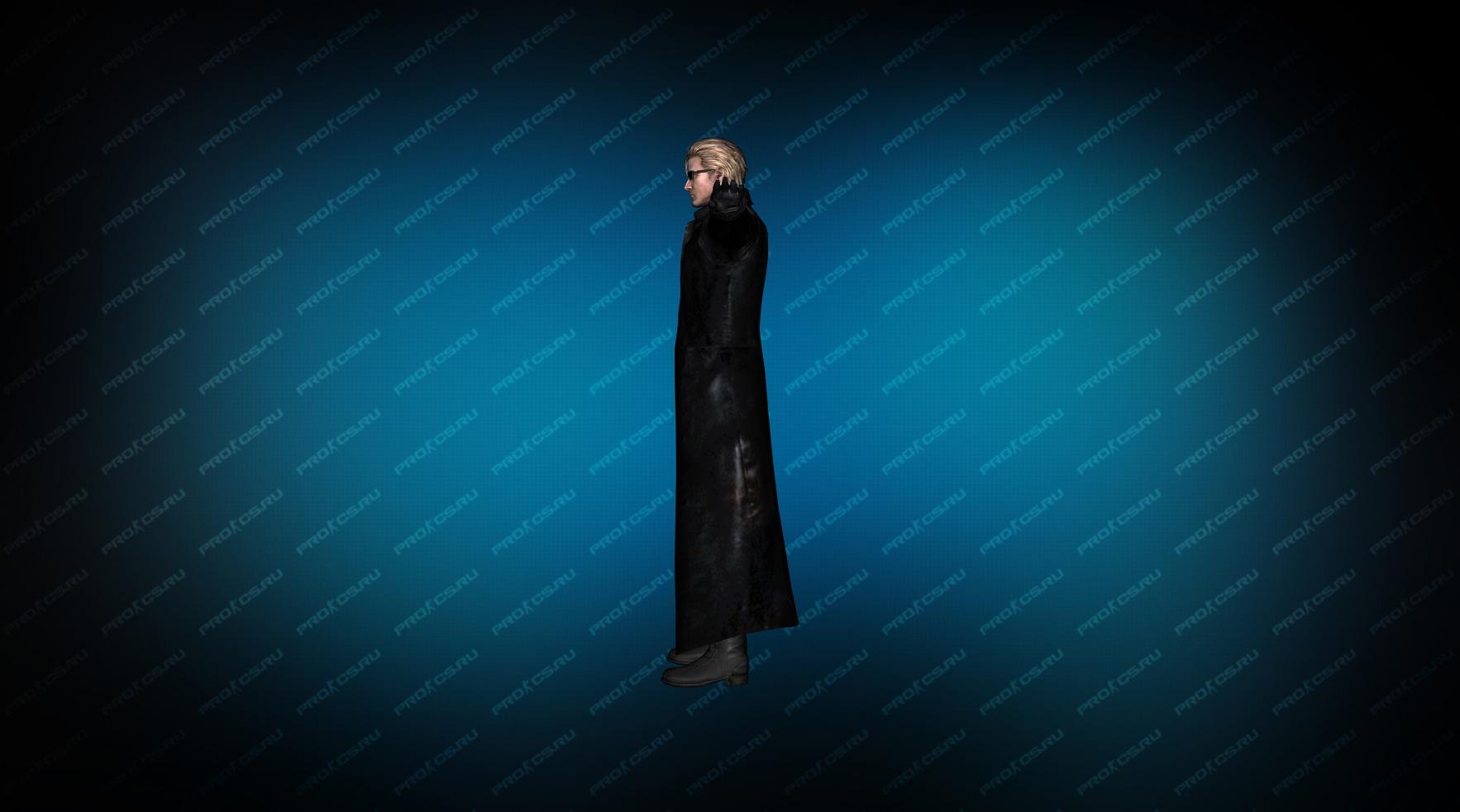 Модель игрока «Albert Wesker» вид сбоку