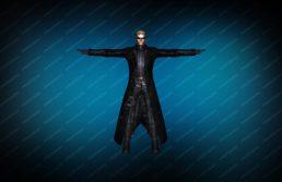 Модель игрока «Albert Wesker» вид спереди