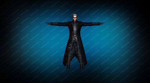 Модель игрока «Albert Wesker» для CS 1.6