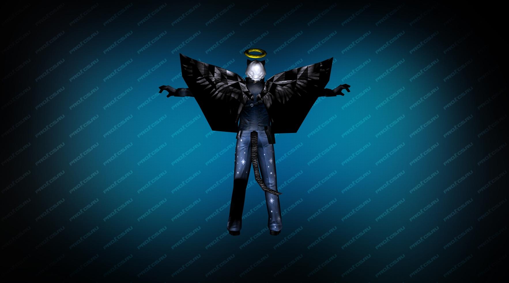 Модель игрока «Ангел» вид сзади