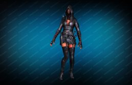 Модель игрока «Fury Ghost» вид спереди