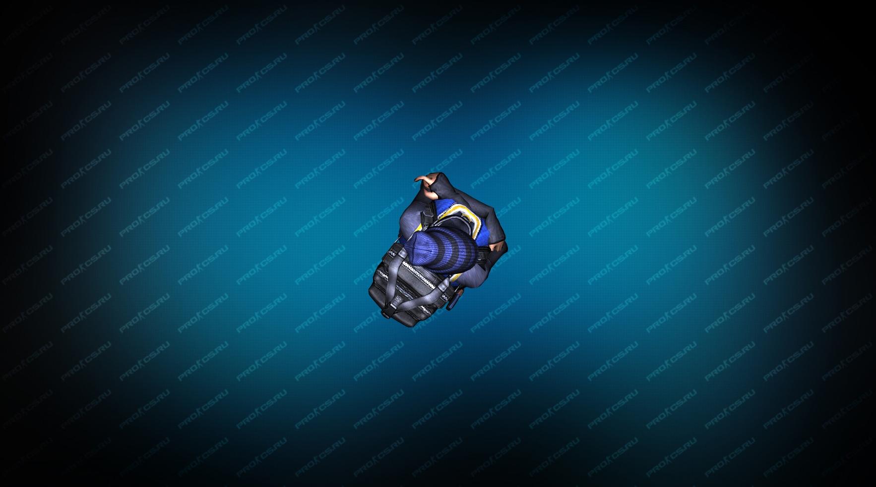 Модель игрока «Hide» Вид сверху