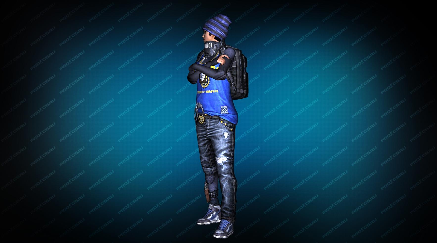 Модель игрока «Hide» вид сбоку