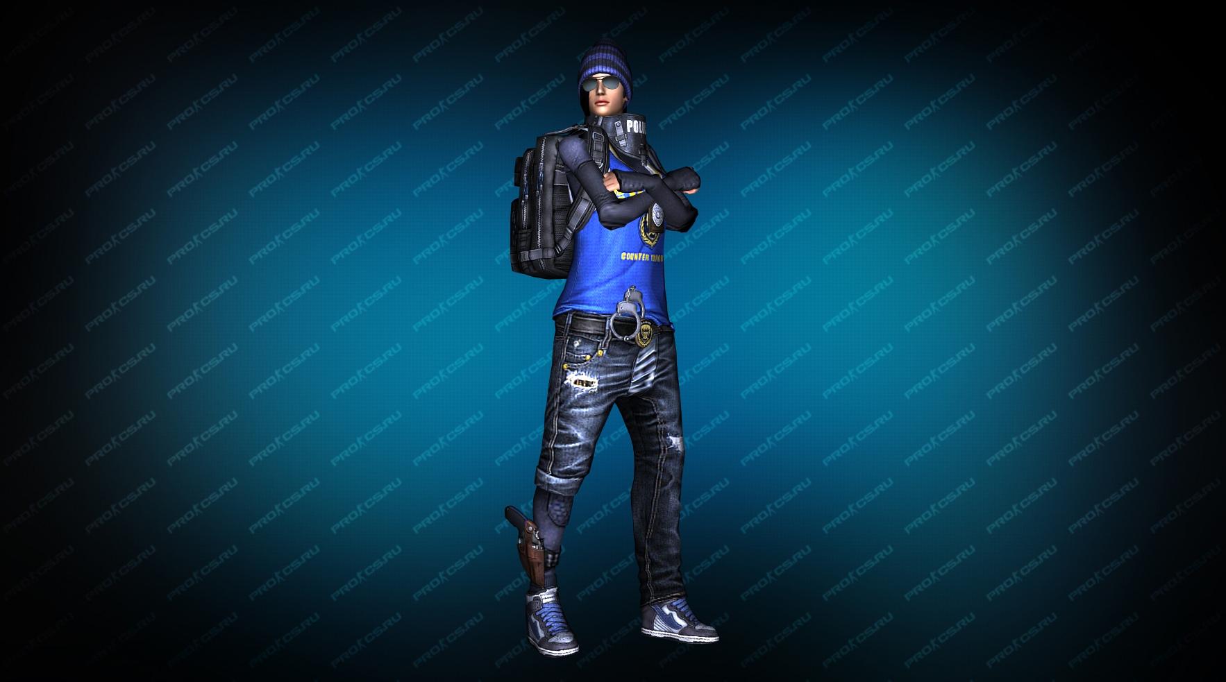 Модель игрока «Hide» вид спереди