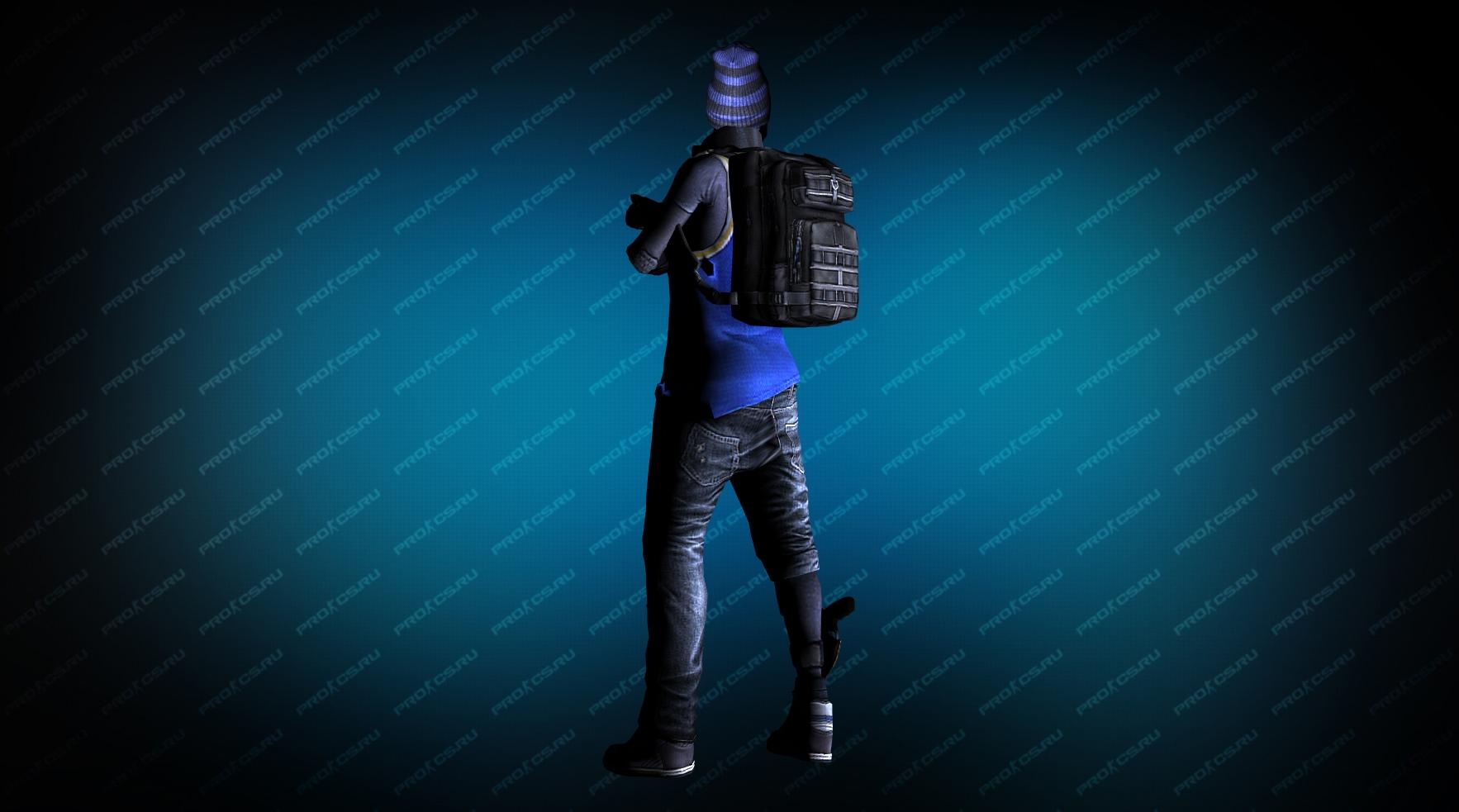 Модель игрока «Hide» вид сзади