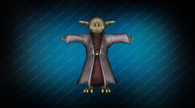 Модель игрока «Мастер Йода» для CS 1.6
