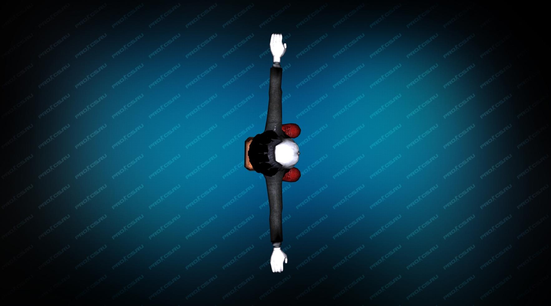 Модель игрока «Пила» Вид сверху