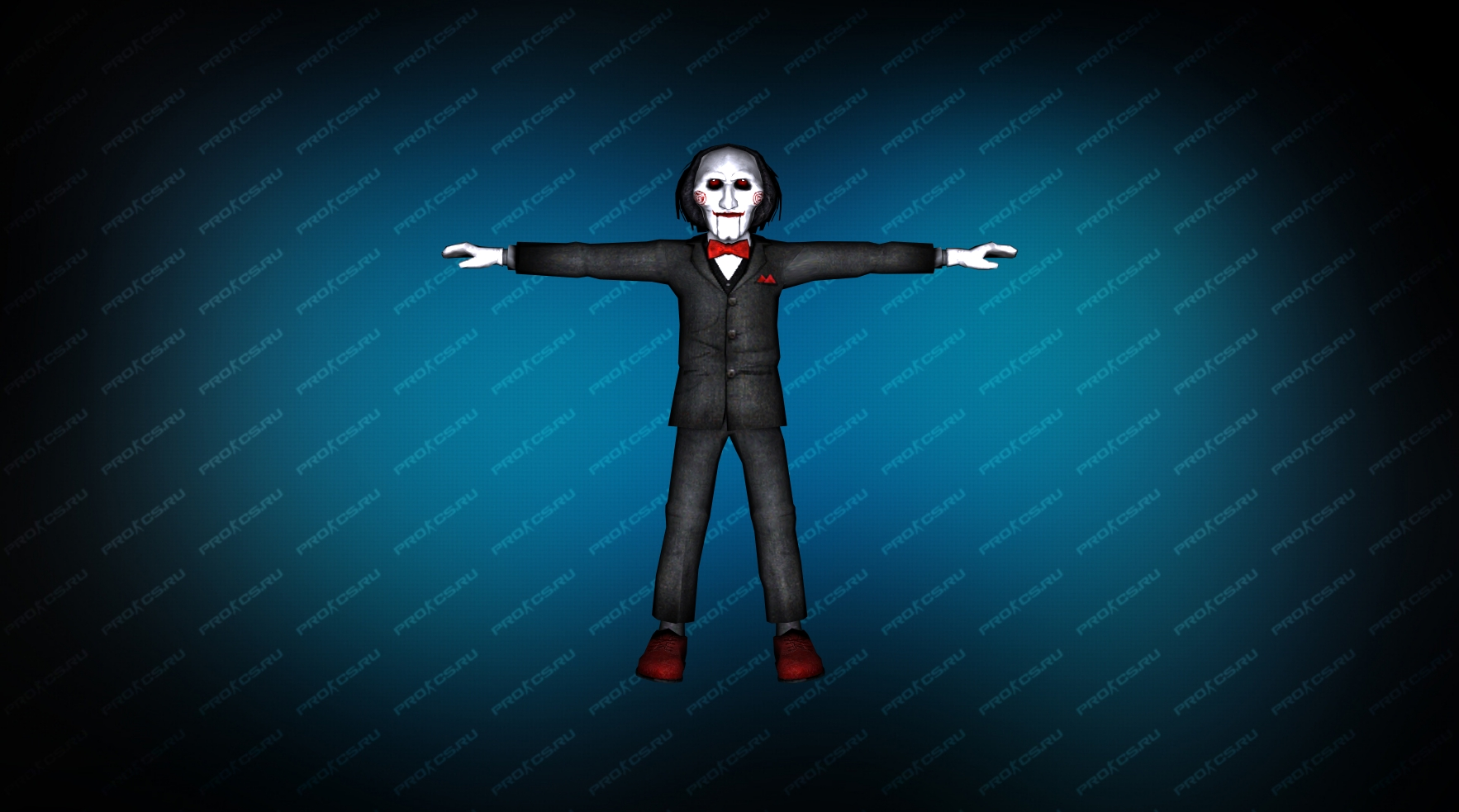 Модель игрока «Пила» вид спереди