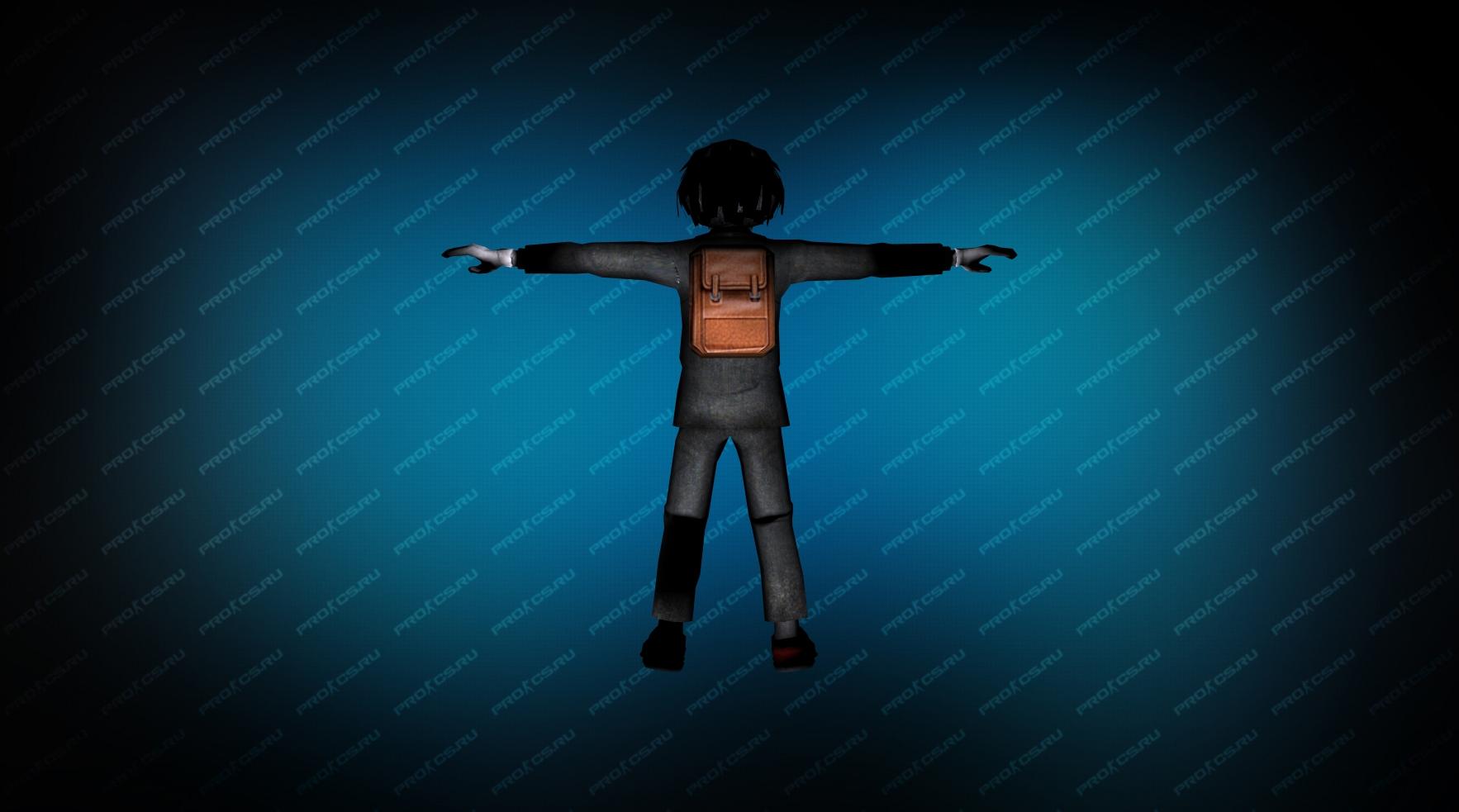 Модель игрока «Пила» вид сзади
