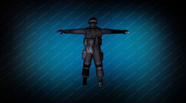 Модель игрока «SWAT Umbrella» для CS 1.6