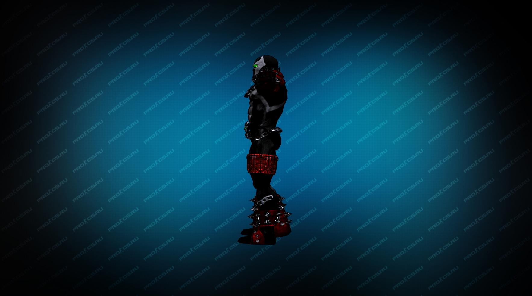 Модель игрока «Spawn» вид сбоку